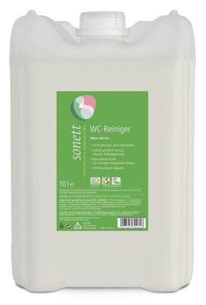 Sonett WC čistič máta a myrta BIO (10 l) - s bio éterickými oleji