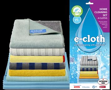 E-cloth Sada hadříků pro celou domácnost (8 ks) - vše pro kompletní úklid