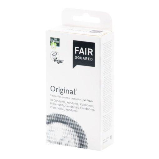 Fair Squared Kondom Original (10 ks) - veganské a fair trade
