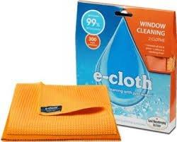 E-cloth Sada hadříků na okna (2 ks) - hadřík na okna a leštící hadřík na sklo