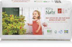 Naty Ekoplenky Maxi+ 4+ (9 - 20 kg) Economy pack (42 ks) - z 55-60 % rozložitelné