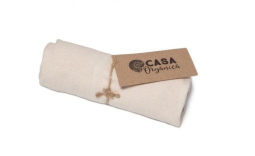 Casa Organica Plátěná kuchyňská utěrka (1 ks) - z nebělené biobavlny