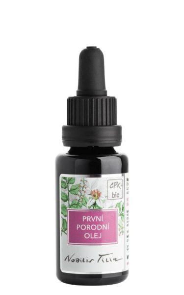 Nobilis Tilia První porodní olej BIO (20 ml) - pro první dobu porodní