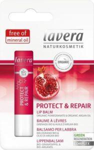 Lavera Balzám na rty s granátovým jablkem Protect & Repair BIO (4