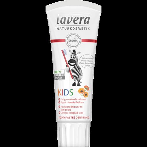 Lavera Dětská zubní pasta BIO (75 ml) - s příjemnou ovocnou chutí