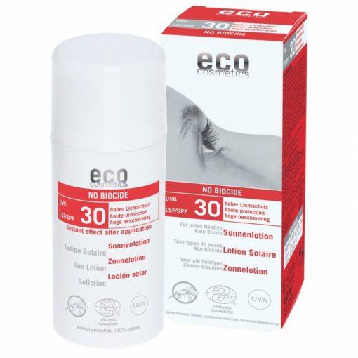Eco Cosmetics Opalovací krém SPF 30 s repelentem BIO (100 ml)