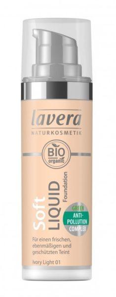 Lavera Lehký tekutý make-up (30 ml) - porcelánová