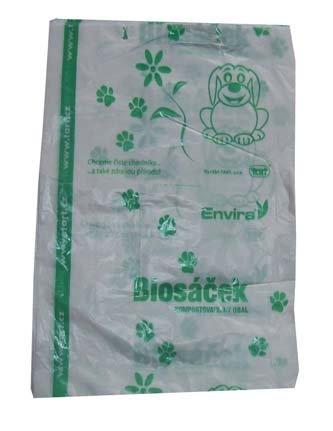 HBABio Sáčky na psí exkrementy (50 ks) - z bioplastu