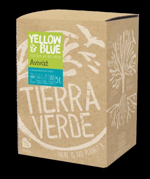 Yellow&Blue Aviváž s levandulí (5 l) - pro zjemnění syntetického prádla