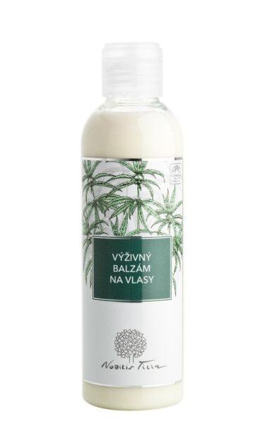Nobilis Tilia Výživný balzám na vlasy (200 ml) - s arganovým a konopným olejem
