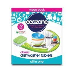 Ecozone Tablety do myčky Classic - vše v jednom (72 ks)