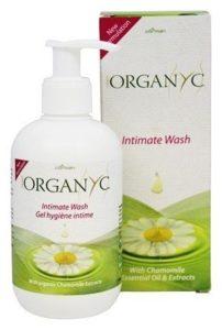 Organyc Gel pro intimní hygienu BIO (250 ml) - s výtažkem z heřmánku a měsíčku
