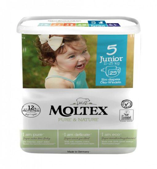Moltex Ekoplenky Pure & Nature - Junior (11-25 kg) (25 ks)