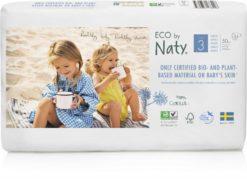 Naty Ekoplenky Midi 3 (4 - 9 kg) Economy pack (50 ks) - z 55-60 % rozložitelné