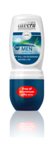 Lavera Deodorant roll-on pro muže bambus - citron. tráva Sensitive BIO (50 ml)