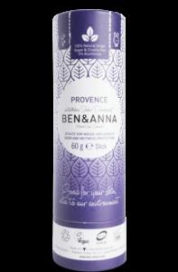 Ben & Anna Tuhý deodorant BIO (60 g) - Levandule - nezanechává lepivý pocit v podpaží