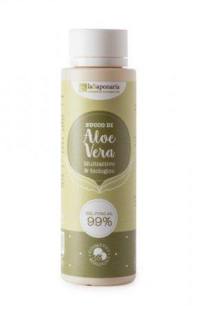 laSaponaria 99% Aloe vera gel na tělo a vlasy (150 ml) - univerzální použití