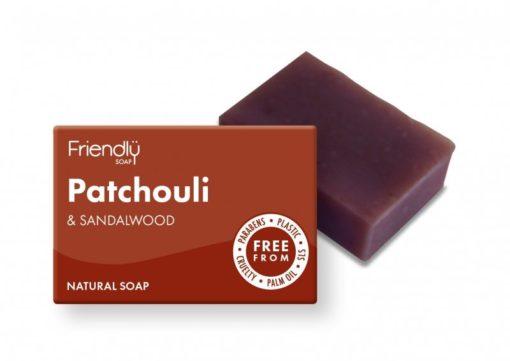 Friendly Soap Přírodní mýdlo pačuli a santalové dřevo (95 g)
