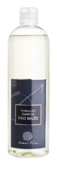 Nobilis Tilia Posilující šampon pro muže (500 ml) - podporuje růst vlasů