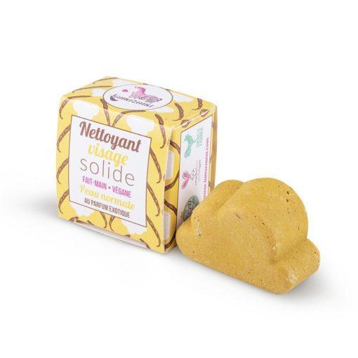 Lamazuna Tuhé mýdlo na čištění obličeje pro normální pleť - exotika (25 g) - krásně pění a hloubkově čistí