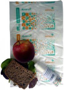 HBABio Svačinové sáčky (50 ks) - z bioplastu