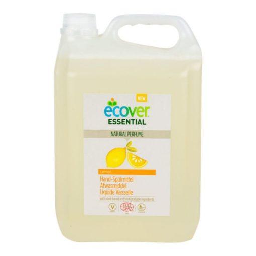 Ecover Essential Přípravek na mytí nádobí (5 l) - citrón - s certifikací ecocert
