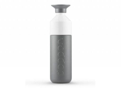 Dopper Nerezová termoska (580 ml) - šedá - uzávěr slouží jako kelímek