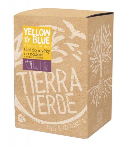 Yellow&Blue Gel do myčky na nádobí (5 l) - z mýdlových ořechů v bio kvalitě