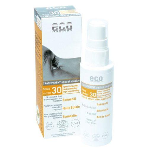 Eco Cosmetics Opalovací olej ve spreji SPF 30 BIO (50 ml) - 100% přírodní