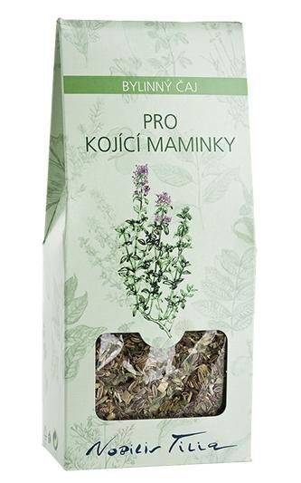 Nobilis Tilia Čaj pro kojící maminky (50 g) - podporuje tvorbu mléka