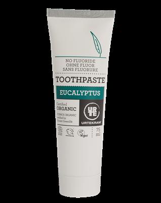 Urtekram Zubní pasta s eukalyptem BIO (75 ml) - bez fluoru