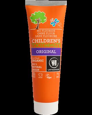 Urtekram Dětská zubní pasta s fenyklem BIO (75 ml) - pro snadné čistění zoubků