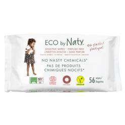 Naty Dětské vlhčené hygienické ubrousky (56 ks) - vhodné i pro velmi citlivou pokožku