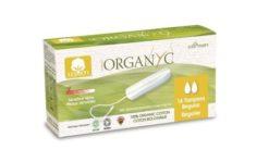 Organyc Tampony Regular (16 ks) - 100% z biobavlny