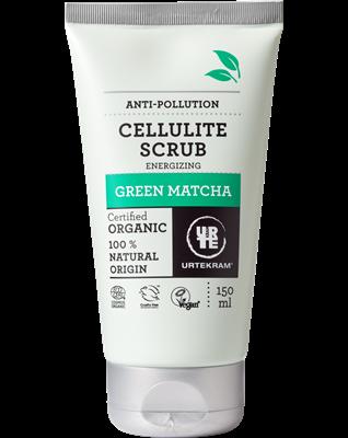 Urtekram Tělový peeling proti celulitidě Green Matcha BIO (150 ml)