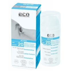 Eco Cosmetics Opalovací krém Neutral bez parfemace SPF 20 BIO (100ml)