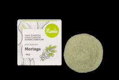 Navia Tuhý šampon s kondicionérem proti lupům Moringa XXL (50 g)