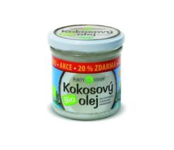 Purity Vision Kokosový olej panenský BIO (120 ml) - za studena lisovaný