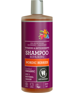 Urtekram Šampon se severskými bobulemi na poškozené vl. BIO (500 ml)