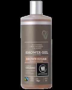 Urtekram Zklidňující sprchový gel s hnědým cukrem BIO (500 ml)