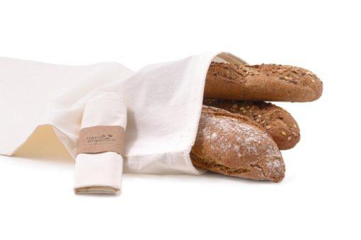 Casa Organica Plátěný sáček - velký (balení po 3 ks) - z biobavlny