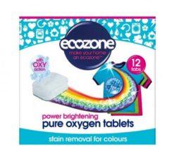 Ecozone Tablety s kyslíkem na barevné prádlo (12 ks) - jen přidáte do pračky