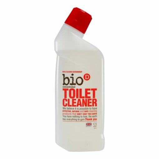 Bio-D WC čistič (750 ml) - bez chlóru a přesto účinný