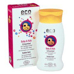 Eco Cosmetics Baby Dětská bublinková koupel BIO (200 ml) - s granátovým jablkem a rakytníkem