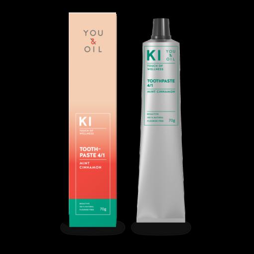 You & Oil Bioaktivní zubní pasta 4/1 - Bělicí (70 g) - s aromaterapeutickými účinky