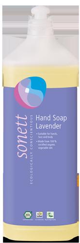 Sonett Tekuté mýdlo - levandule BIO (1 l) - pro vaše ruce