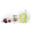 Frusack Knit Duo Pack - modrá (2 ks) - z pevné kompostovatelné pleteniny