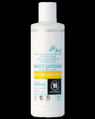 Urtekram Něžné tělové mléko pro miminka BIO (250 ml)