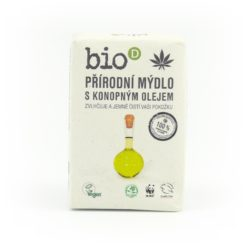 Bio-D Mýdlo s konopným olejem (95 g) - ručně vyráběné