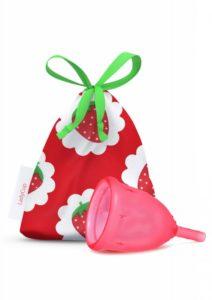 LadyCup Menstruační kalíšek - sladká jahoda - malý (S)